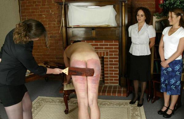 Asian women who spank men — 3