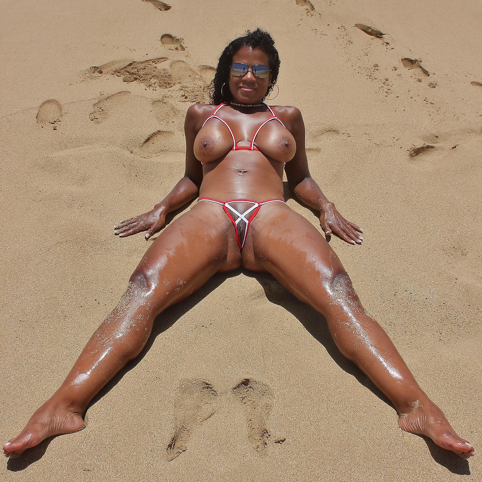 beach brazilian Bikini dare
