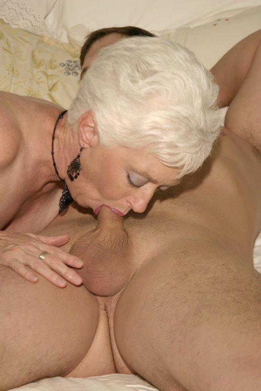 granny Cock fucking sucking