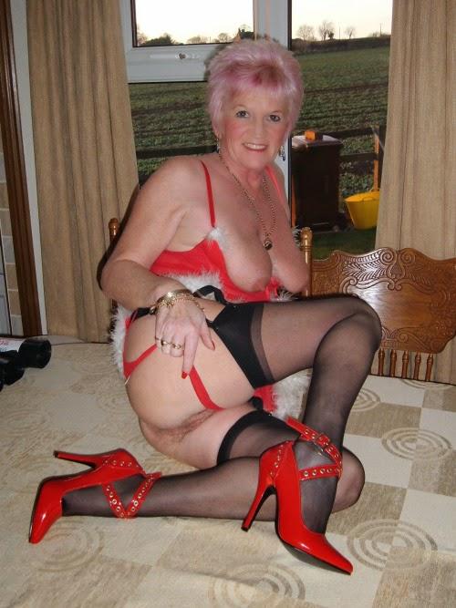 Granny In Heels