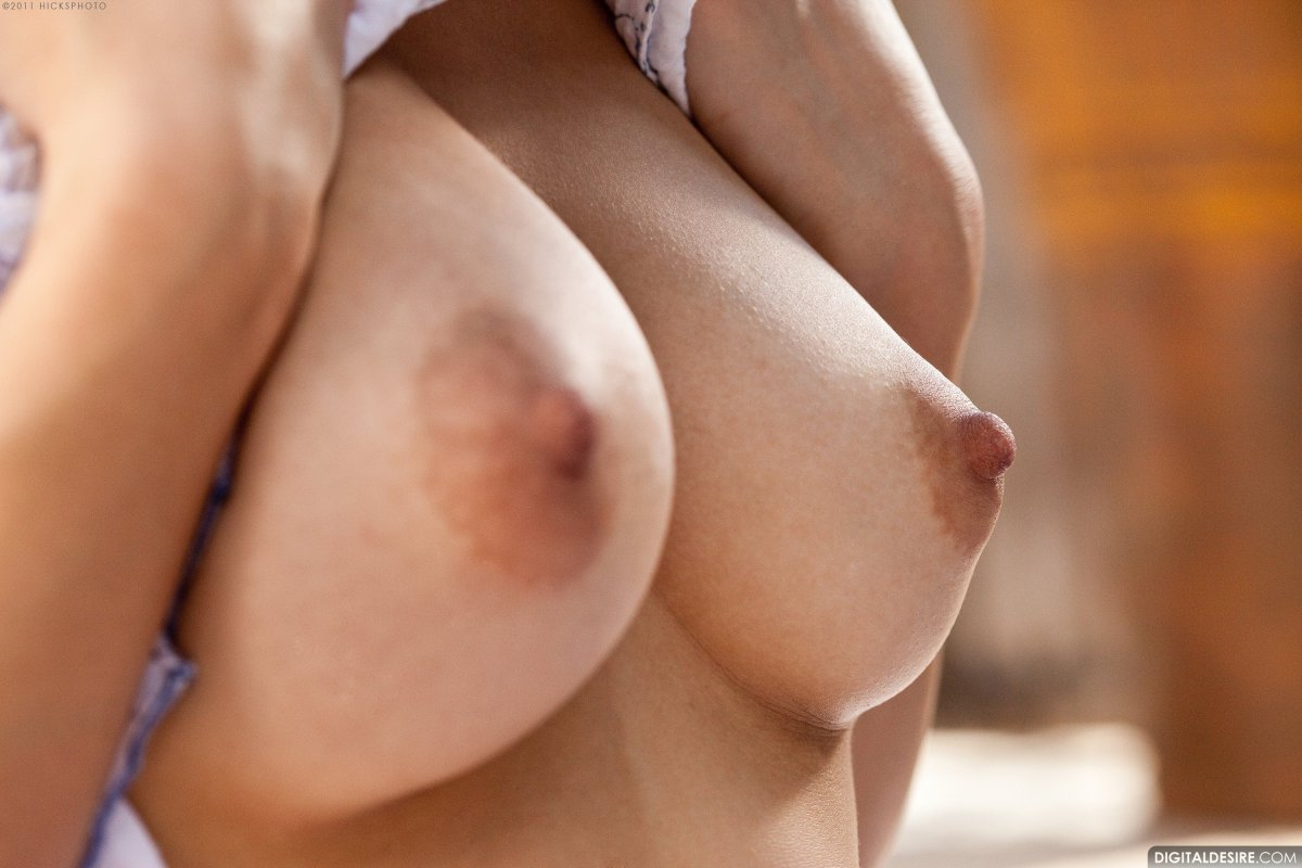 Naked hard nipples close up pussy picture