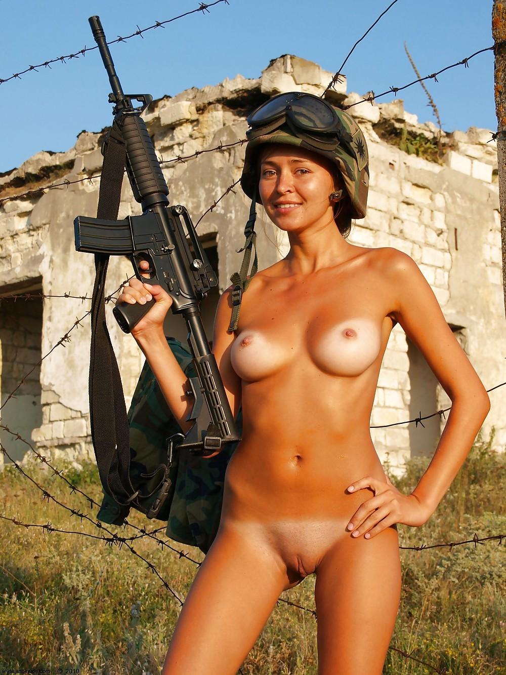 Women army porn photo — pic 5