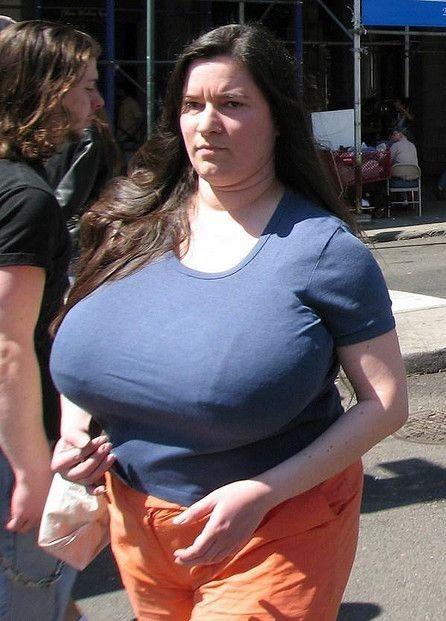 big tits clothed