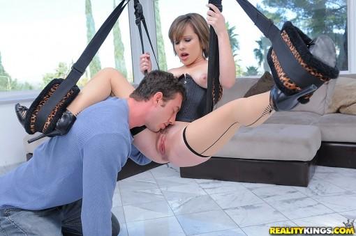 Hot sex swing