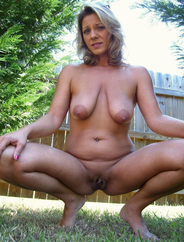 Nude Milf Outdoor
